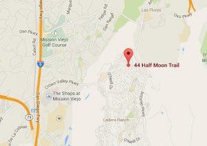 half moon trail map