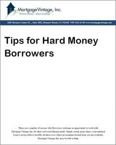 tips for hard money borrowers